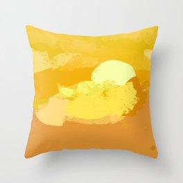 Ambience 033 sunburnt Throw Pillow