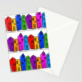 Rowhouse Romance Stationery Cards