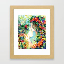 Nature/Nurture Framed Art Print