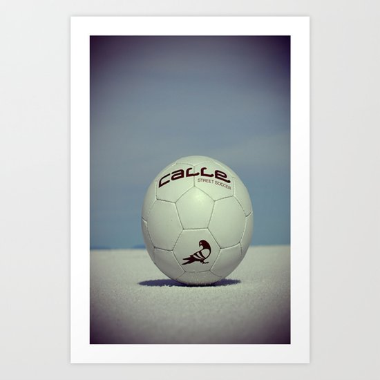 Yippe-Calle. Art Print