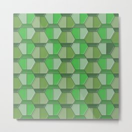Geometrix 134 Metal Print