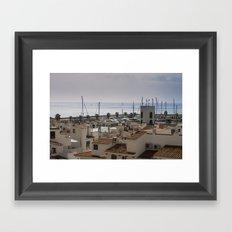 Port d'Aiguadolç Framed Art Print