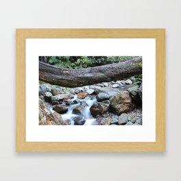 Whispy Waters Framed Art Print