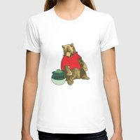 pooh T-shirts featuring Pooh! by Pieterjan Arends