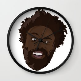 Childish Gambino Face Wall Clock