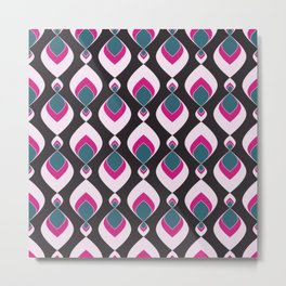 Multi-colored pattern . Metal Print