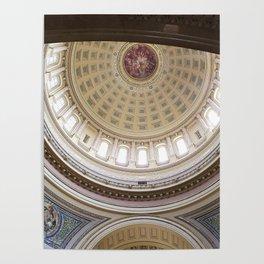Wisconsin Capitol Building Rotunda 1 Poster
