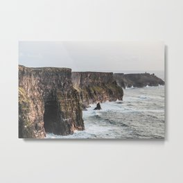 Travel to Ireland: Cliffs of Moher Metal Print