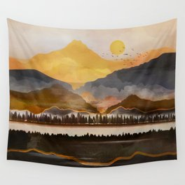 Pure Wilderness at Dusk Wall Tapestry