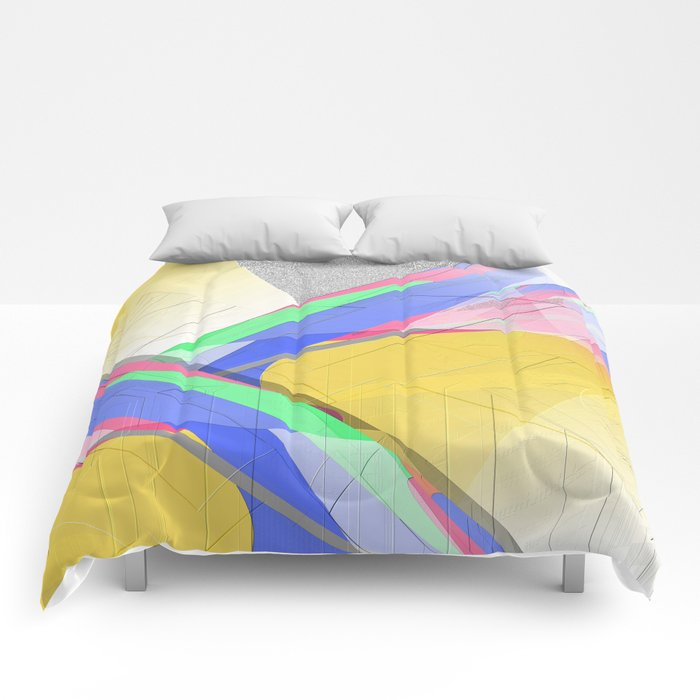 Multicolored abstract 2016 / 012 Comforters