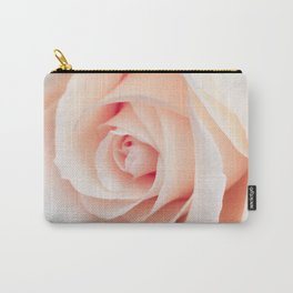 Flowers Photography | Rose | Spring | Easter | Blush Pink Carry-All Pouch