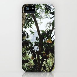 Jungle of Machu Picchu iPhone Case
