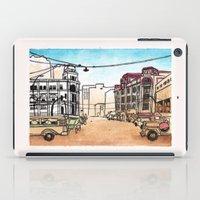 philippines iPad Cases featuring Philippines : Escolta by Ryan Sumo
