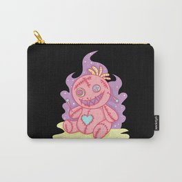 Pastel Gothic Voodoo Doll Witchcraft Carry-All Pouch