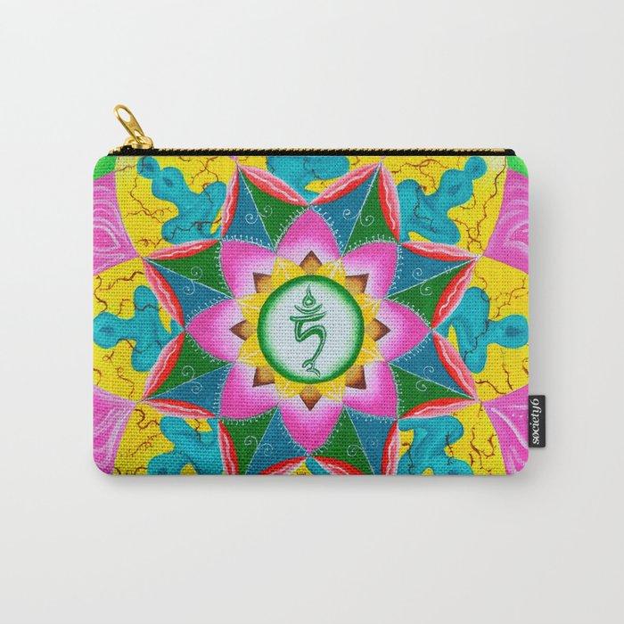 Mandala of Green Tara Carry-All Pouch
