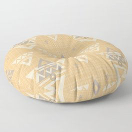 Tribal Yellow #society6 Floor Pillow