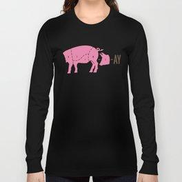Pig Latin Long Sleeve T-shirt