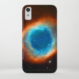 Eye Of God - Helix Nebula iPhone Case