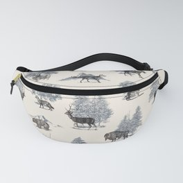 Where They Belong - Winter Fanny Pack
