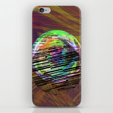 marble barcode iPhone & iPod Skin