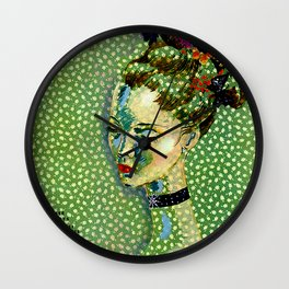Vogue : Vintage 1935 Abstract Flapper Poster Print Wall Clock