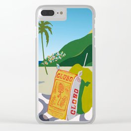 GLOBO COOKIES IN RIO Clear iPhone Case