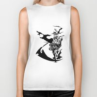 durarara Biker Tanks featuring Celty & Shooter by Prince Of Darkness