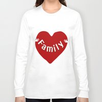 family Long Sleeve T-shirts featuring Family by Geni