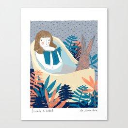 Sirenita de Ciudad / Little Mermaid in the City  Canvas Print