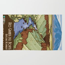 Vintage poster - Rio Grande Del Norte Rug