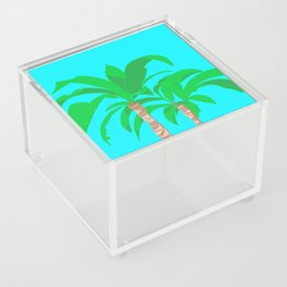 Green Palms Acrylic Box