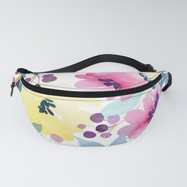Tropical Poppies Fanny Pack