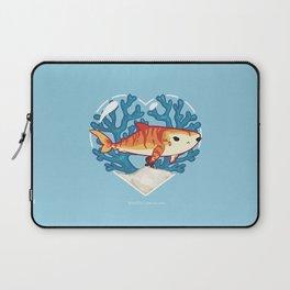 CHOMP the Tiger Shark Laptop Sleeve