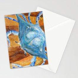 Carolina Blue Crab Stationery Cards