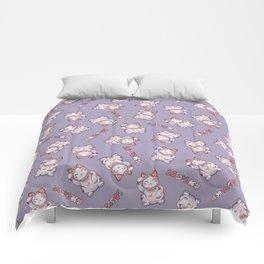 Hanami Maneki Neko: Shun Comforters