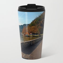 Sunny afternoon at the harbour   landscape photography Travel Mug