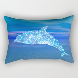 Star Dolphin Rectangular Pillow