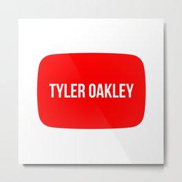 Tyler Oakley Metal Print