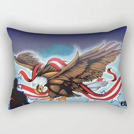 Liberty Eagle by Topaz Rectangular Pillow