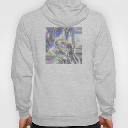 Magical Holographic Foil Textures Hoody