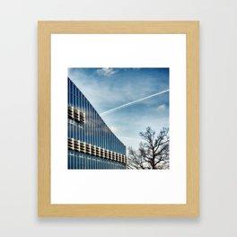 Office building Framed Art Print