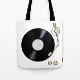Record Deck Tote Bag