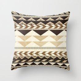 Aztec Pattern No. 29 Throw Pillow