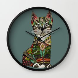 pixiebob kitten juniper Wall Clock