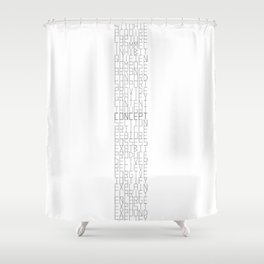 Words series - Hy[pon|per]nyms Shower Curtain