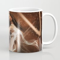 women Mugs featuring Women by Susann Mielke