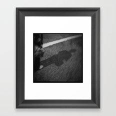 Shadow Street Framed Art Print