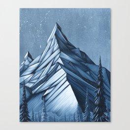 'Cystal Mountain I' Canvas Print