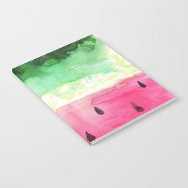 Watercolor Watermelon Notebook
