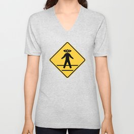 Start Seeing Pedestrians Unisex V-Neck